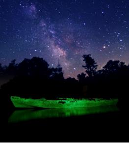 Светящиеся краски для лодок, яхт и причалов - Tricolor