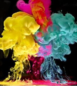 Флуоресцентные (неоновые) пигменты - Tricolor