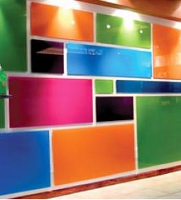 Покраска стекла - Tricolor