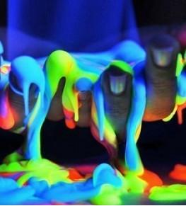 Флуоресцентные краски - Tricolor