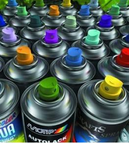 Аэрозольные краски - Tricolor