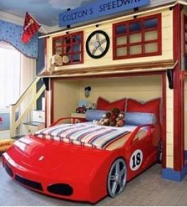 Детские кровати - Tricolor