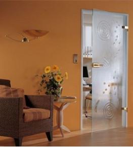 Стеклянные двери - Tricolor