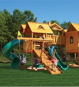 Детские площадки - Tricolor