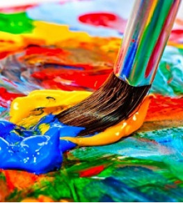 Краски для творчества - Tricolor