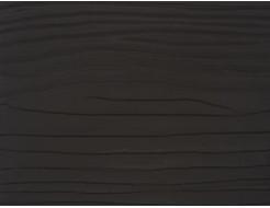 Фиброцементная доска ZEDER черно-коричневая RAL 8019