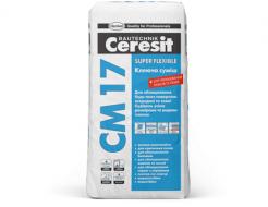 Высокоэластичная клеящая смесь Super Flexible Ceresit CM 17
