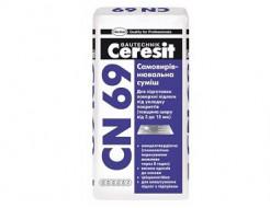 Самовыравнивающаяся смесь 1-15 мм Ceresit CN 69