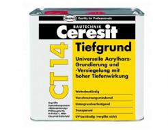 Грунтовка глубокопроникающая Ceresit CT 14
