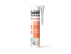 Герметик силиконовый универсальный Ceresit CS 24 Silikon белый