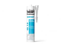 Герметик силиконовый Ceresit CS 15 Sanitary Санитарный белый