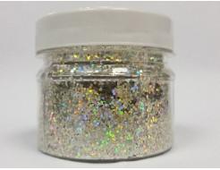 Купить Глиттер голографический GG-21/1,0 мм (1/24) оливковый Tricolor - 1