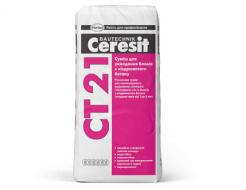 Купить Смесь для укладки блоков из ячеистого бетона Ceresit CT 21 зима
