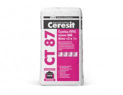 Смесь ППС + МВ белая 2 в 1 Ceresit CT 87