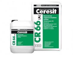 Эластичная гидроизоляционная смесь Ceresit CR 66 - интернет-магазин tricolor.com.ua
