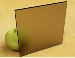 Стекло сатин двухсторонний бронза 4 мм