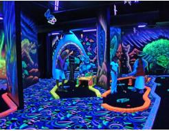Краска флуоресцентная AcmeLight для бетона голубая
