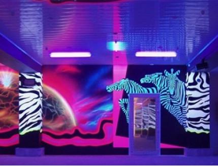 Краска флуоресцентная AcmeLight для бетона белая