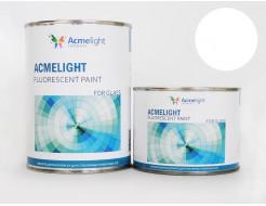 Краска флуоресцентная AcmeLight для стекла (2К) белая