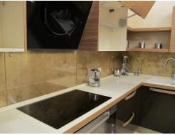 Кухонный фартук из супер чистого стекла