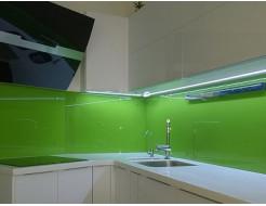 Купить Кухонный фартук из стекла с покраской в 1 цвет