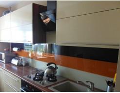 Купить Кухонный фартук из супер чистого стекла с покраской в 3 цвета