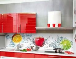 Кухонный фартук из супер чистого стекла с фотопечатью - интернет-магазин tricolor.com.ua