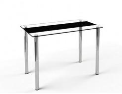 Купить Стеклянный обеденный стол S1 1100*650 покраска - 1
