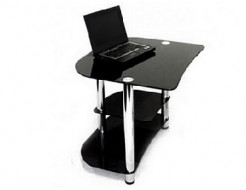 Купить Стеклянный компьютерный стол P-2