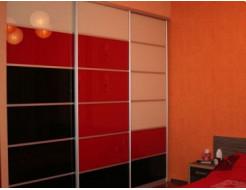Двери для шкафа купе стекло с покраской в 1 цвет