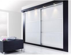 Двери для шкафа купе супер чистое стекло с покраской в 1 цвет