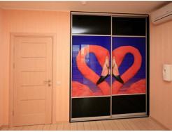 Купить Двери для шкафа купе стекло с фотопечатью