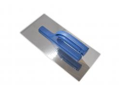 Гладилка нержавеющая с пластмассовой ручкой, 125x270 мм