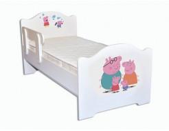 Кроватка эксклюзив Свинка Пеппа 80х160 ДСП