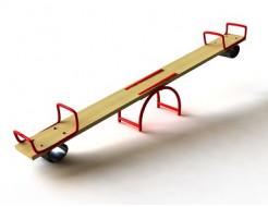 Купить Качели-балансир Старт с металлическим каркасом - 1