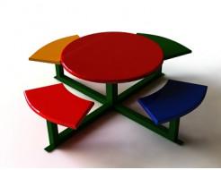 Купить Детский столик DEL001 - 1