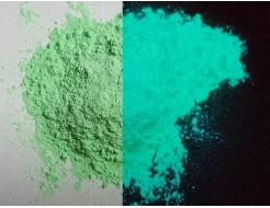 Люминесцентный пигмент Люминофор цветной Tricolor Green зеленый