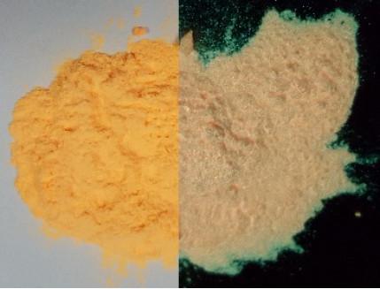 Пигмент Люминофор цветной Tricolor Yellow-Orange оранжевый - интернет-магазин tricolor.com.ua