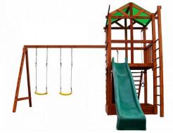 Игровой комплекс для дачи Babyland-6 - интернет-магазин tricolor.com.ua
