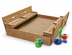 Детская песочница-3 - интернет-магазин tricolor.com.ua