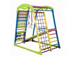 Купить Детский спортивный комплекс для дома SportWood Plus - 1