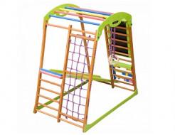 Купить Детский спортивный комплекс для дома BabyWood Plus - 1