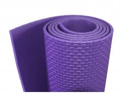 Коврик-каремат Izolon Fitness 140х50 фиолетовый - интернет-магазин tricolor.com.ua