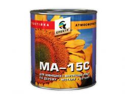 Эмаль МА-15 Спектр желтая
