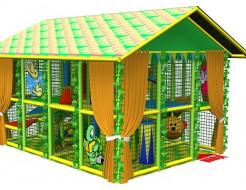 Купить Детский лабиринт с крышей