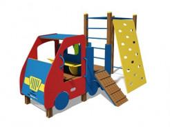 Купить Машинка с гимнастическим комплексом ТЕ506 - 1