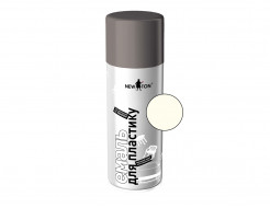 Аэрозоль для пластика NEW TON белый (RAL 9003)