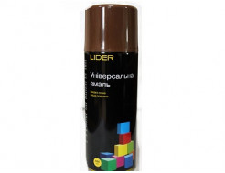 Купить Аэрозоль универсальный Lider коричневый (RAL 8011)