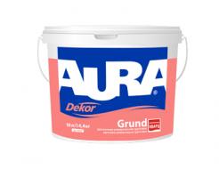 Грунтовка адгезионная универсальная Aura Dekor Grund