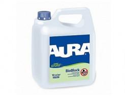 Купить Грунтовка укрепляющая антиплесневая Aura Unigrund BioBlock